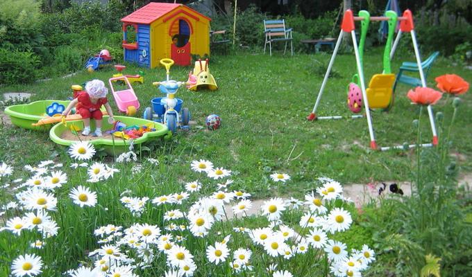 Интерьер сада своими руками - Поделки