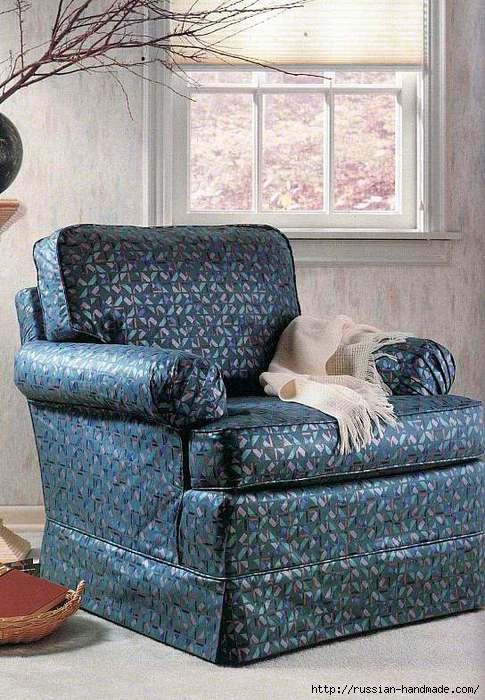 Как сшить чехлы для старой мебели (1) (485x700, 215Kb)