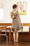 Коллекция блузок и платье