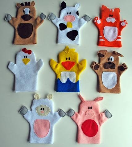 Old MacDonald Puppets 5