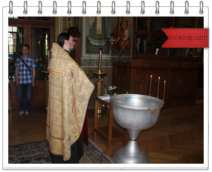 Ионинский монастырь обряд Крещения