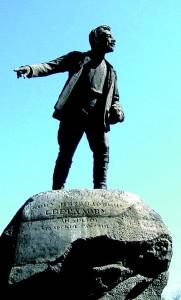 Екатернбург - памятник Свердлову (181x300, 16Kb)