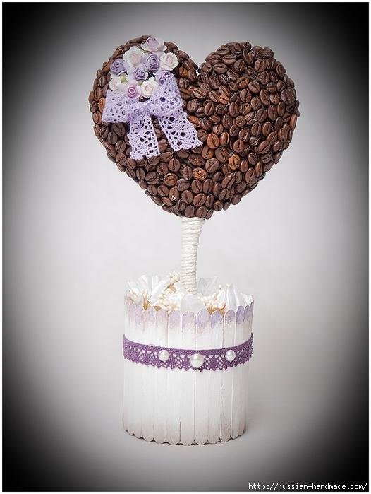 кофейное деревце. кофейный топиарий-валентинка (23) (526x700, 203Kb)