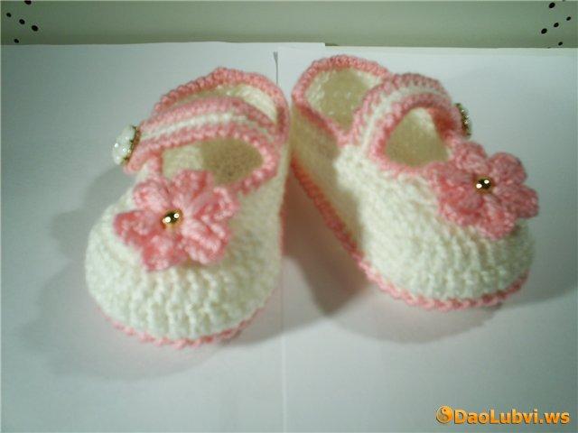 Метки: туфельки пинетки