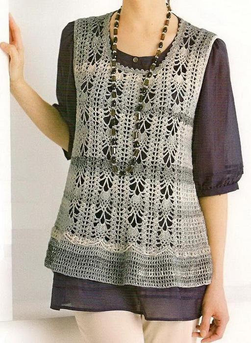 crochet-tunic free-pattern  1 (512x700, 85Kb)