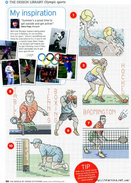 Часть 13 - Спорт (схемы