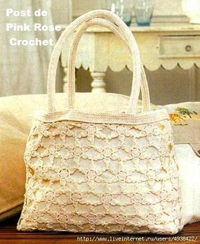 Bolsa Flores de Croche - Summery Handbag . PRoseCrochet (410x500, 122Kb)