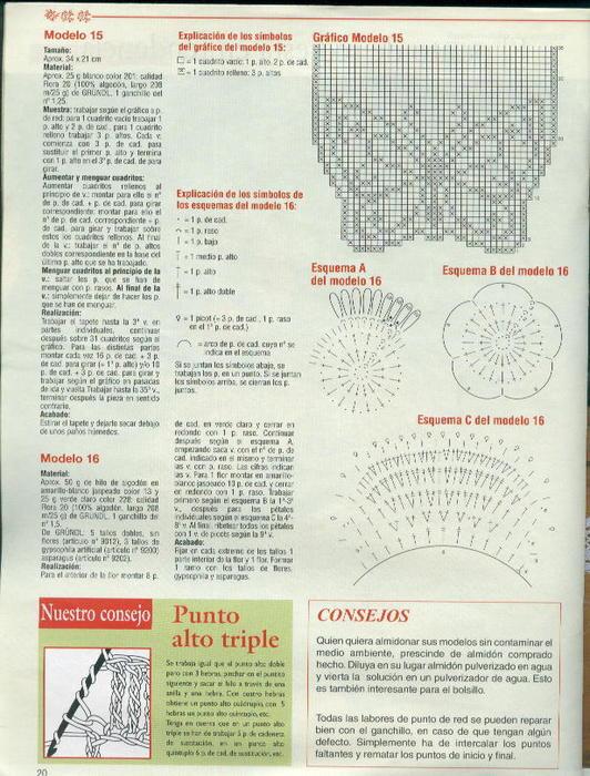 вязание крючком. салфетки скатерти подушки (2) (532x700, 89Kb)