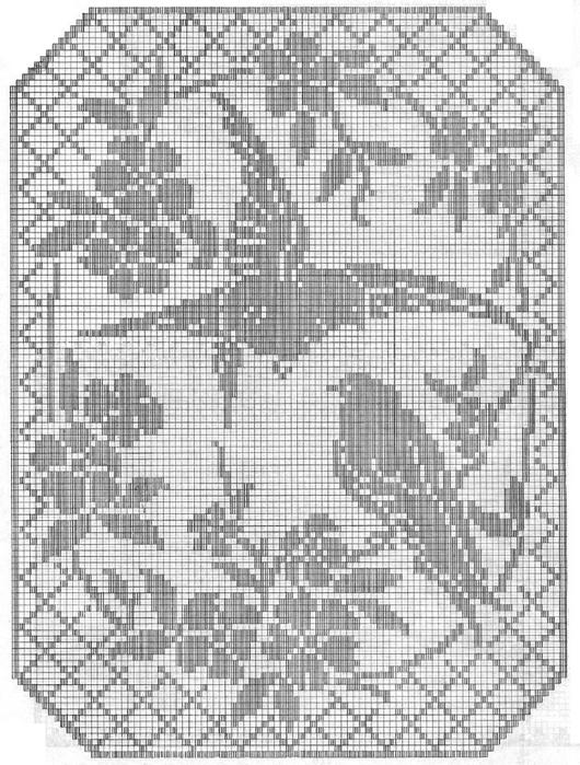вязание крючком. салфетки скатерти подушки (4) (530x700, 293Kb)