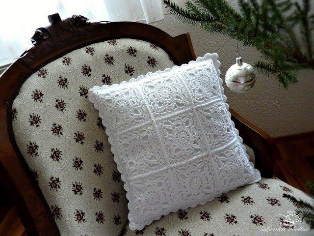 вязание крючком. салфетки скатерти подушки (19) (640x480, 78Kb)