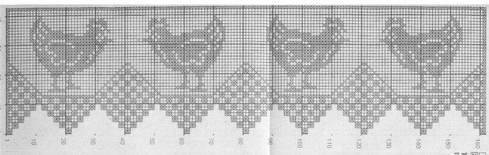 Ganchillo.  manteles de tela almohadas (25) (700x222, 54Kb)