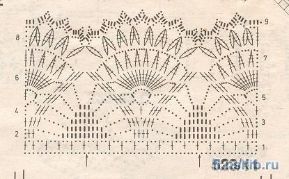 вязание крючком. салфетки скатерти подушки (31) (415x258, 39Kb)