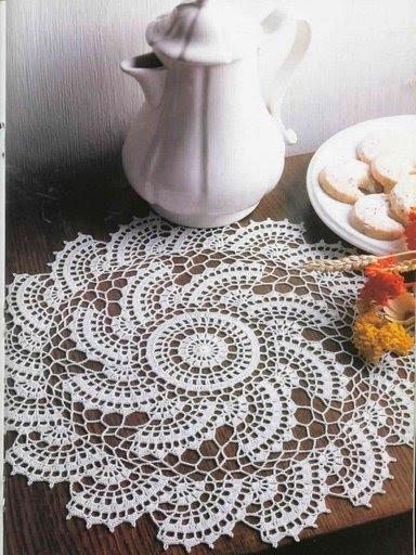 вязание крючком. салфетки скатерти подушки (33) (384x512, 65Kb)