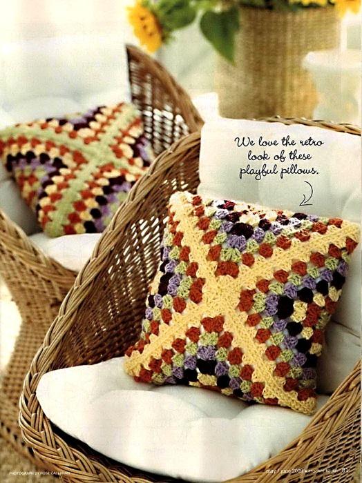 вязание крючком. салфетки скатерти подушки (35) (524x700, 170Kb)