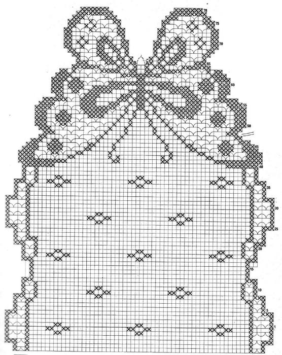 вязание крючком. салфетки скатерти подушки (44) (556x700, 281Kb)