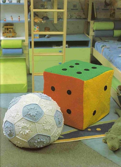 вязание крючком. салфетки скатерти подушки (63) (507x700, 266Kb)