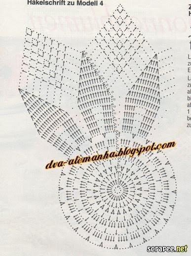 вязание крючком. салфетки скатерти подушки (70) (387x520, 53Kb)