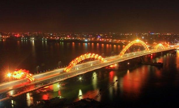 мост Dragon Bridge вьетнам фото 5 (614x372, 36Kb)