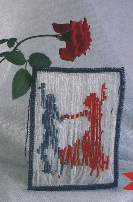 из бисера схемы плетения