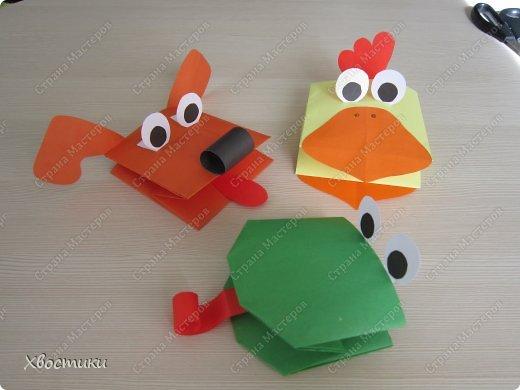 Оригами из бумаги игрушки своими руками из бумаги видео