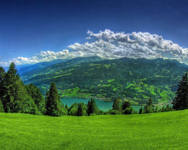 Горный пейзаж, Штат Калифорния, США (604x483, 62Kb)
