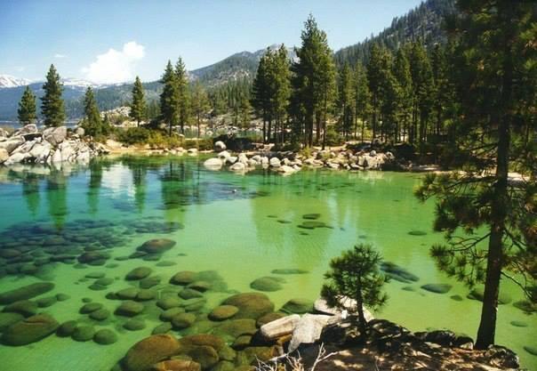 Озеро Тахо, Калифорния, США (604x417, 46Kb)