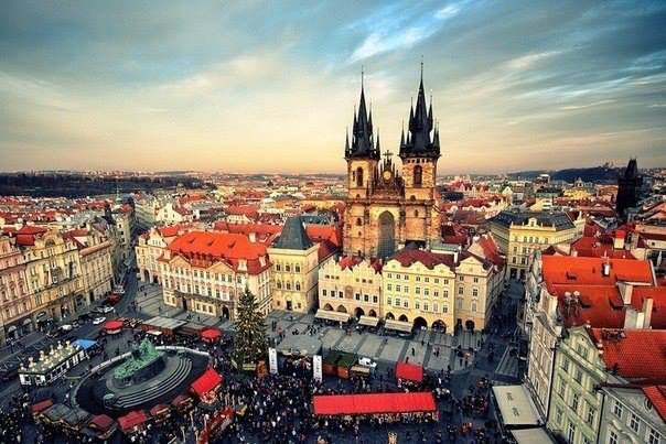 Прага, Чехия (604x403, 52Kb)
