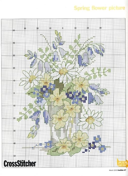 47 - Spring Flower (508x700,