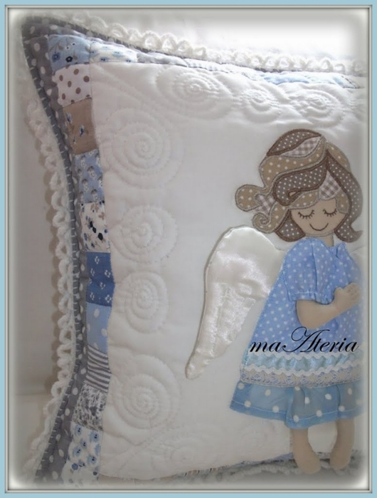 Лоскутное шитье. Детские подушки (33) (530x700, 201Kb)