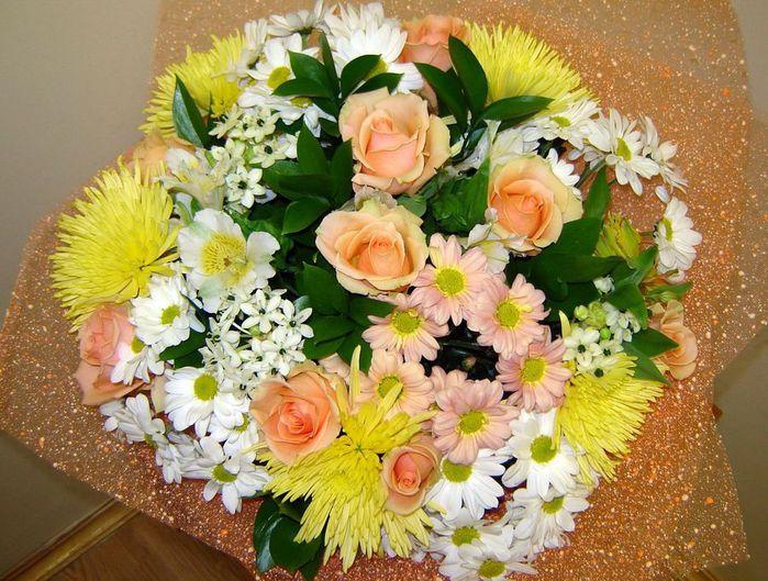 Подарки букеты из цветов