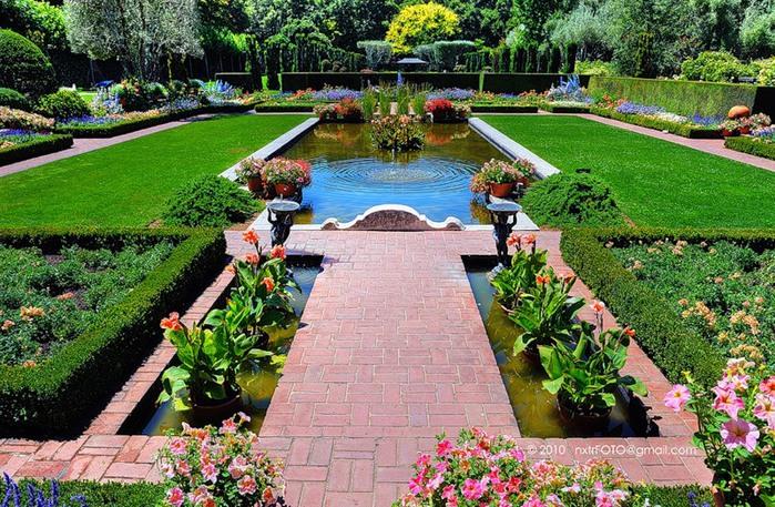 Сады Филоли - цветочная сказка из американской мечты.