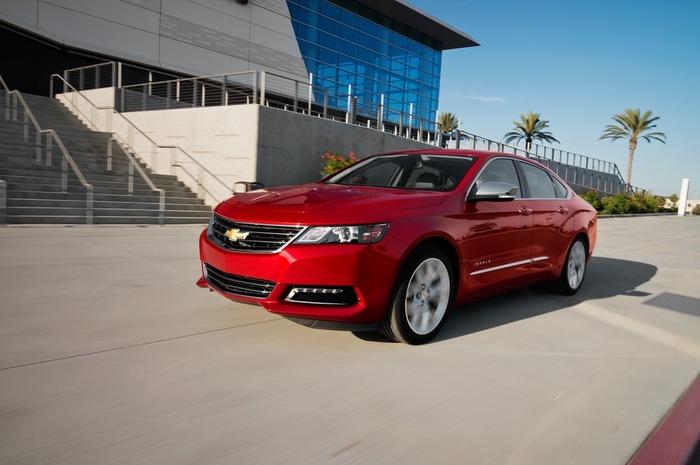 Фотографии нового автомобиля Chevy Impala 2014