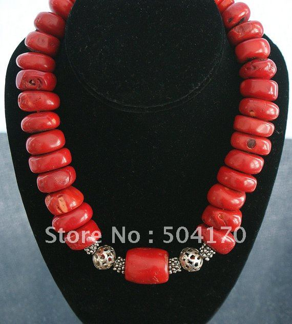 17Inch-Unusual-12mm-Natural-Slice-Coral-Necklace-Free-Shipping-158 (570x632, 59Kb)