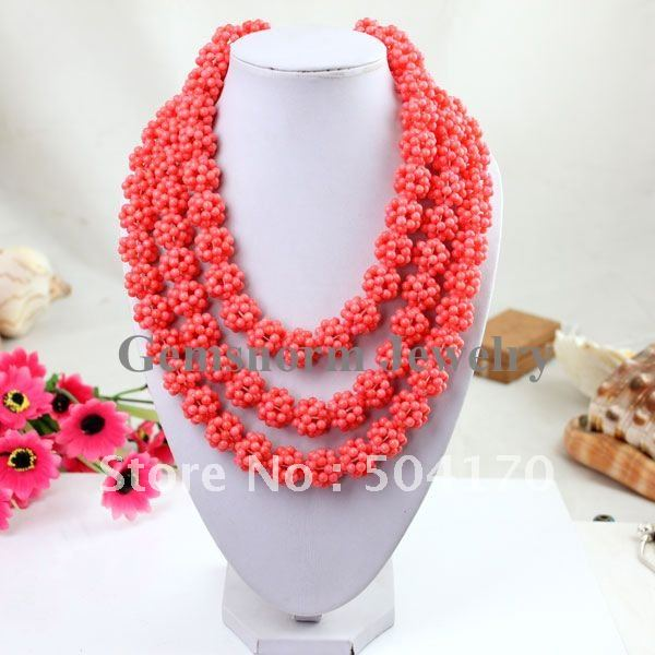 EMS-DHL-Free-Shipping-3Strands-Elegant-Pink-Coral-Necklace-Ball-Coral-Necklace-Hot-Buy-Wholesale-Retail (600x600, 48Kb)