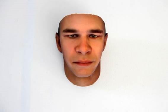 Объемные портреты из ДНК, собранных на улице