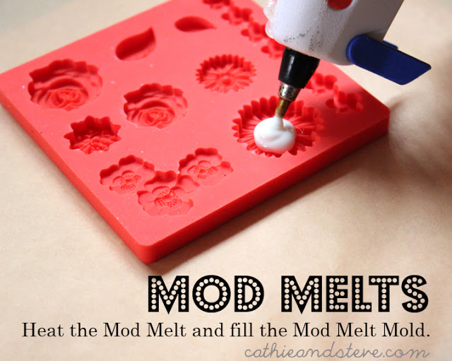 heat the mod melt and fill the mold mod podge (640x511, 89Kb)