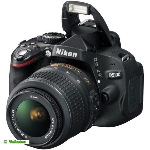 Фотокамера зеркальная Nikon D 5100 (500x500, 54Kb)
