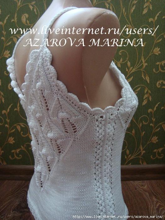 """针织:""""吊带衫"""" - maomao - 我随心动"""