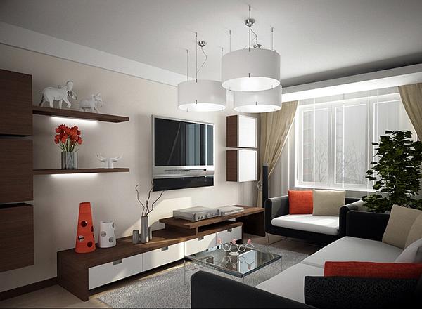 Интерьер однокомнатных квартир хрущевок фото