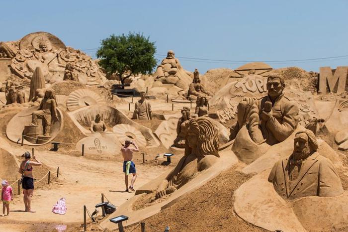 песчаные скульптуры фото (700x466, 63Kb)
