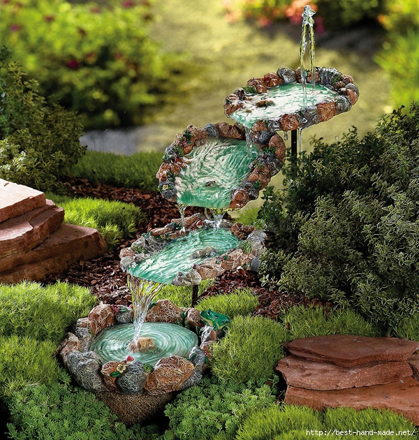 Ландшафтный дизайн ракушки