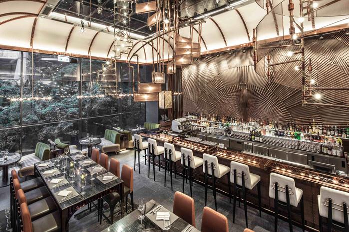 креативный дизайн интерьера ресторана фото 1 (700x466, 247Kb)