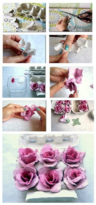 розы из упаковки для яиц (329x700, 79Kb)