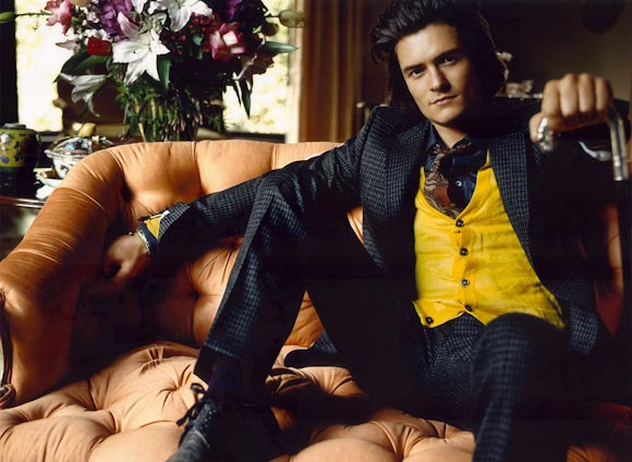 Orlando Bloom - Mario Testino Photoshoot 2005 for Vanity Fair 12 (580x424, 55Kb)