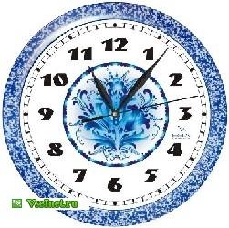 Часы настенные ВЕГА П1-10727-80 Гжель (251x250, 33Kb)