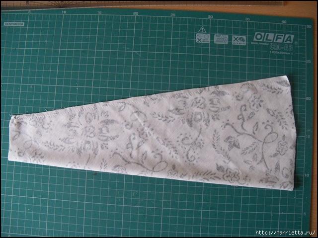 Текстильные цветы и веточки на проволоке и декор вазы тканью (3) (640x479, 258Kb)