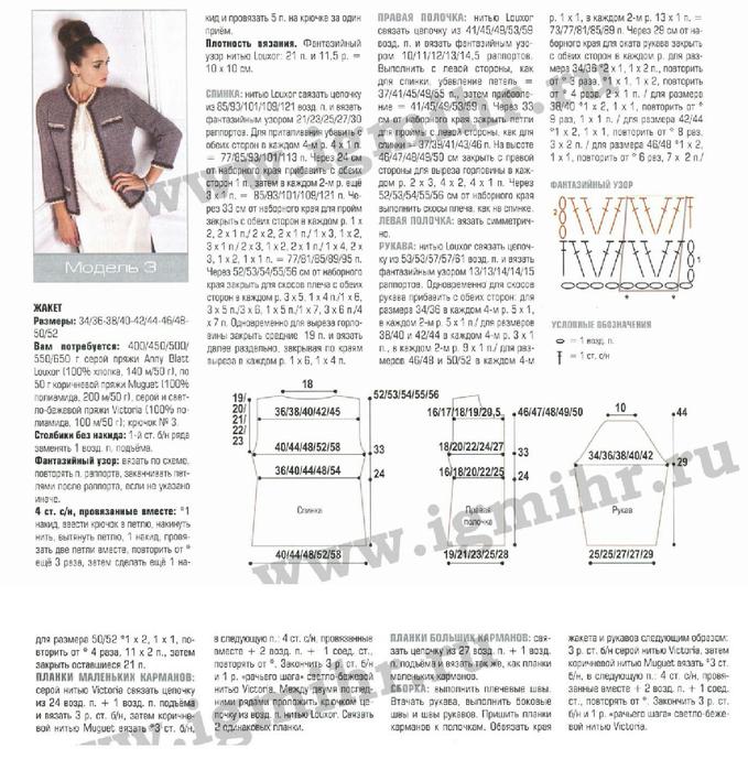 Вязание в стиле шанель крючком схемы 46
