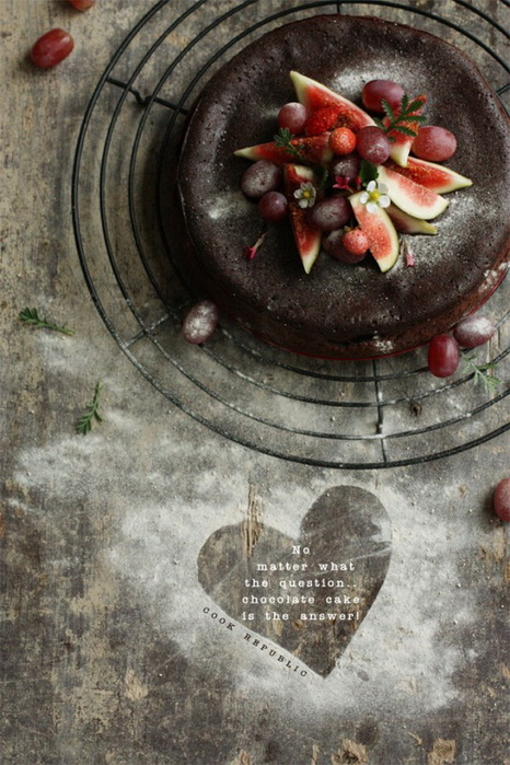 шоколадный торт фото (466x700, 143Kb)