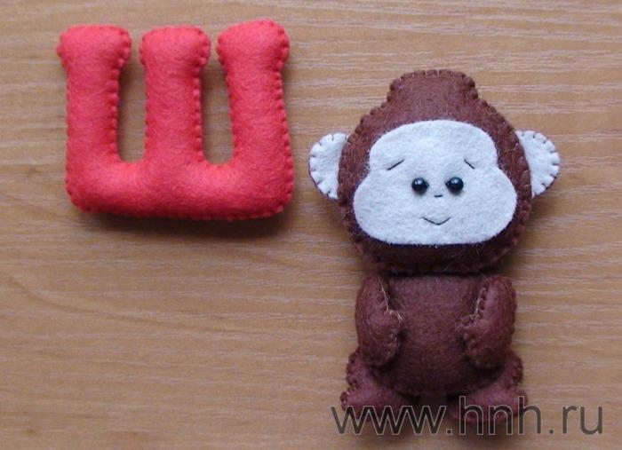 Фетровый алфавит с игрушками из фетра (39) (700x507, 46Kb)