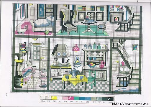 Вышивка. Кукольные домики с мебелью (7) (512x363, 206Kb)